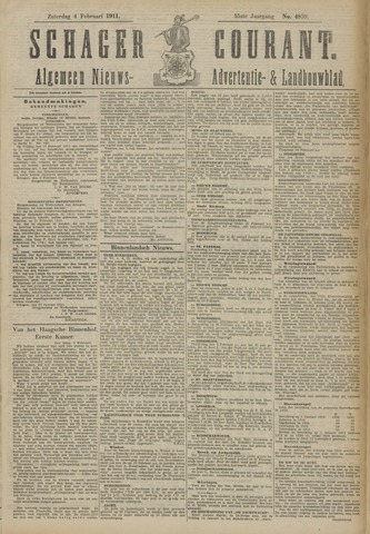Schager Courant 1911-02-04