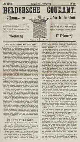 Heldersche Courant 1869-02-17