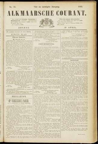 Alkmaarsche Courant 1882-04-30