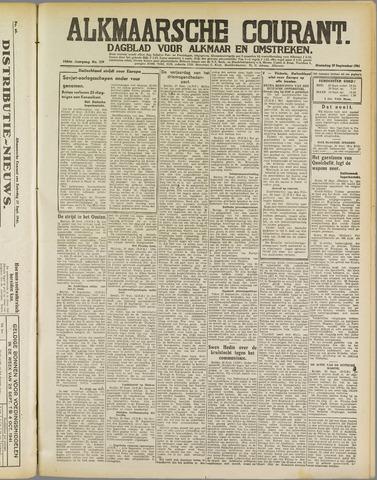 Alkmaarsche Courant 1941-09-29