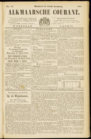 Alkmaarsche Courant 1902-04-02
