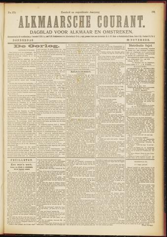 Alkmaarsche Courant 1917-11-22