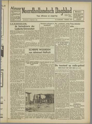 Nieuw Noordhollandsch Dagblad : voor Alkmaar en omgeving 1946-02-09
