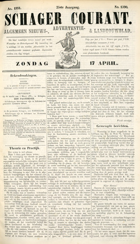 Schager Courant 1881-04-17