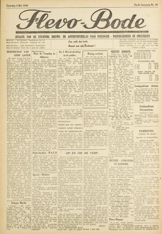 Flevo-bode: nieuwsblad voor Wieringen-Wieringermeer 1948-05-08