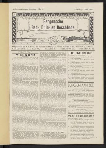 Bergensche bad-, duin- en boschbode 1937-06-05