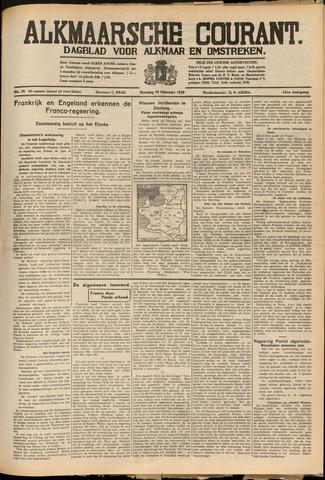 Alkmaarsche Courant 1939-02-28