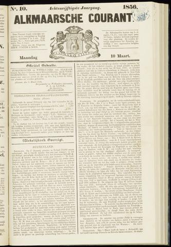 Alkmaarsche Courant 1856-03-10