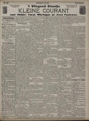Vliegend blaadje : nieuws- en advertentiebode voor Den Helder 1909-07-21