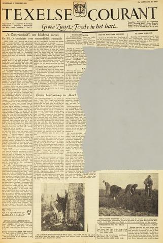 Texelsche Courant 1952-02-27