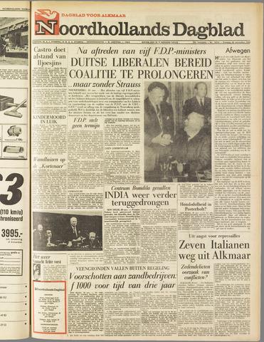 Noordhollands Dagblad : dagblad voor Alkmaar en omgeving 1962-11-20