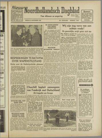 Nieuw Noordhollandsch Dagblad : voor Alkmaar en omgeving 1946-09-20