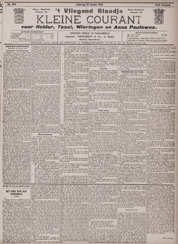 Vliegend blaadje : nieuws- en advertentiebode voor Den Helder 1903-01-24
