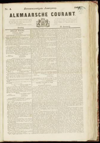 Alkmaarsche Courant 1865-01-22