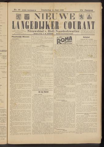 Nieuwe Langedijker Courant 1928-06-14