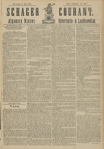 Schager Courant 1911-05-17