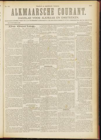 Alkmaarsche Courant 1917-10-25