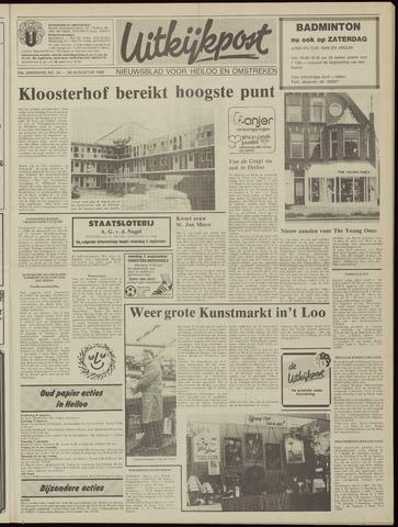 Uitkijkpost : nieuwsblad voor Heiloo e.o. 1985-08-28