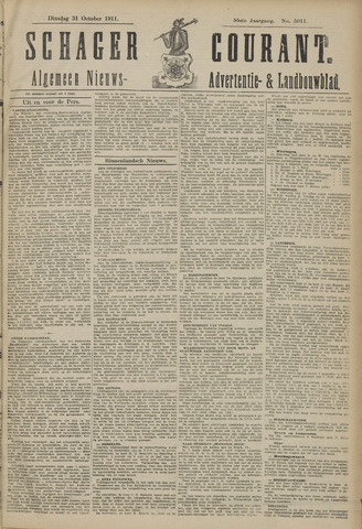 Schager Courant 1911-10-31