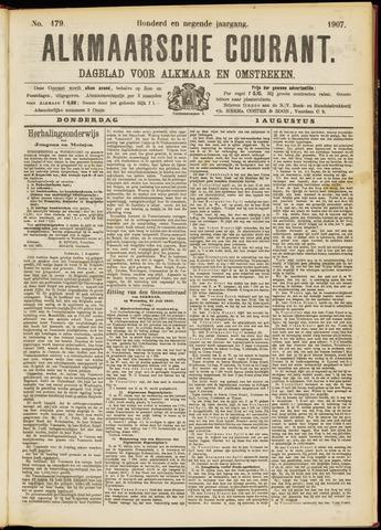 Alkmaarsche Courant 1907-08-01