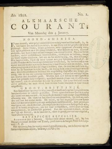 Alkmaarsche Courant 1802-01-04