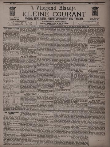 Vliegend blaadje : nieuws- en advertentiebode voor Den Helder 1895-11-20