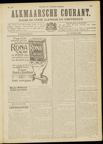 Alkmaarsche Courant 1912-02-15