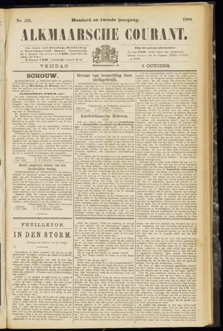 Alkmaarsche Courant 1900-10-05