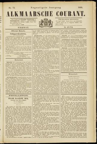 Alkmaarsche Courant 1888-06-15