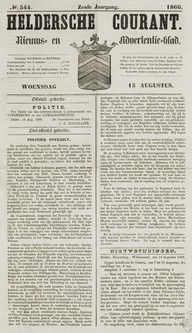 Heldersche Courant 1866-08-15