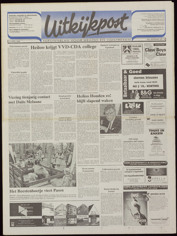 Uitkijkpost : nieuwsblad voor Heiloo e.o. 1998-04-15