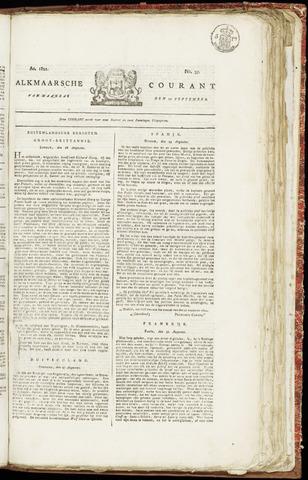 Alkmaarsche Courant 1821-09-10