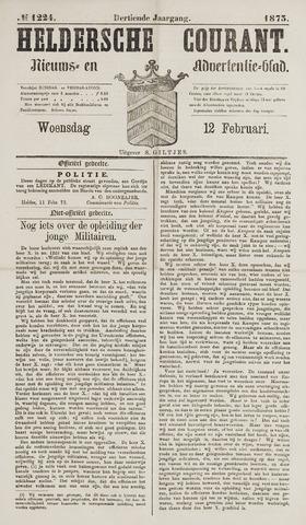 Heldersche Courant 1873-02-12