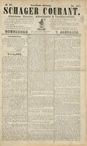 Schager Courant 1875