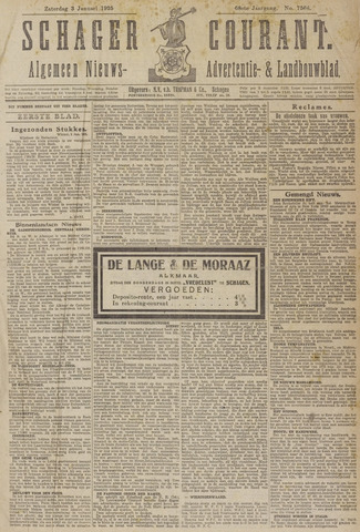 Schager Courant 1925