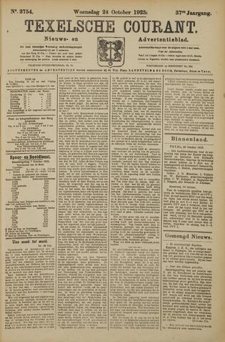 Texelsche Courant 1923-10-24