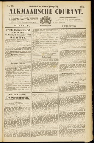 Alkmaarsche Courant 1902-08-06