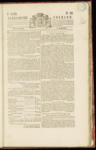 Alkmaarsche Courant 1847-08-09