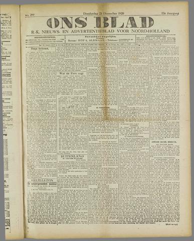 Ons Blad : katholiek nieuwsblad voor N-H 1920-12-23