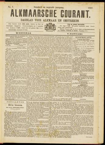 Alkmaarsche Courant 1907-01-02