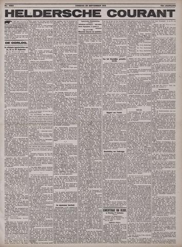 Heldersche Courant 1915-09-28