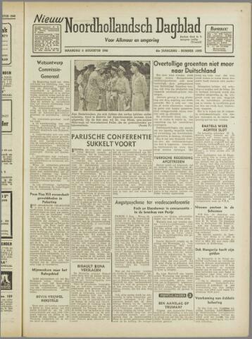 Nieuw Noordhollandsch Dagblad : voor Alkmaar en omgeving 1946-08-05