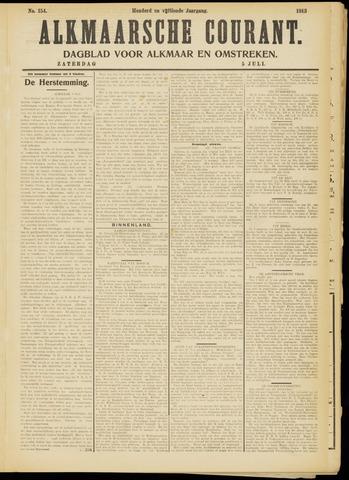 Alkmaarsche Courant 1913-07-05