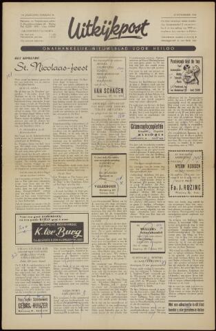 Uitkijkpost : nieuwsblad voor Heiloo e.o. 1958-11-21