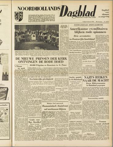 Noordhollands Dagblad : dagblad voor Alkmaar en omgeving 1953-01-16