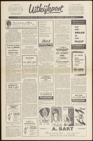 Uitkijkpost : nieuwsblad voor Heiloo e.o. 1968-11-21