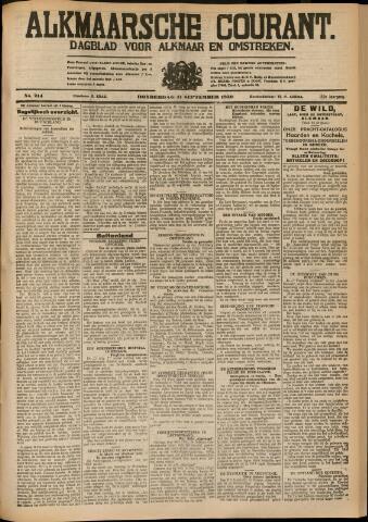 Alkmaarsche Courant 1930-09-11