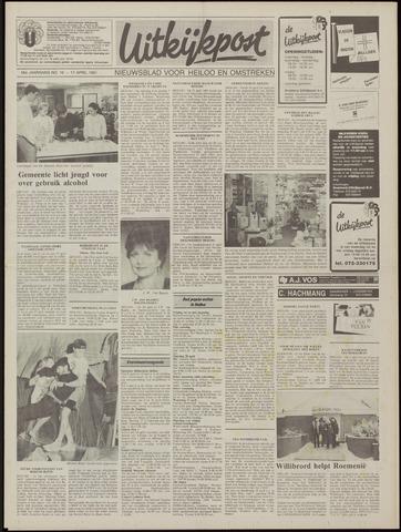 Uitkijkpost : nieuwsblad voor Heiloo e.o. 1991-04-17