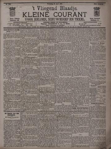 Vliegend blaadje : nieuws- en advertentiebode voor Den Helder 1895-04-10