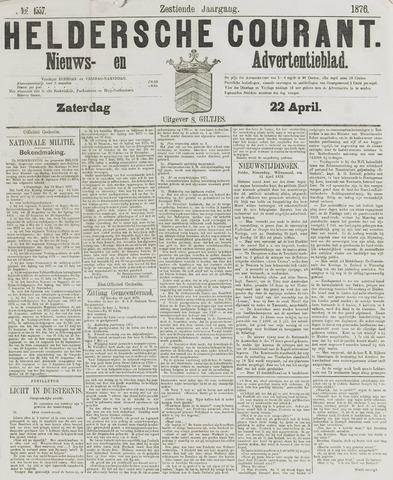 Heldersche Courant 1876-04-22